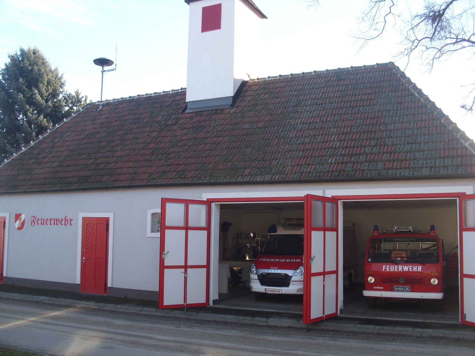 Feuerwehrhaus 2009 nach dem Umbau