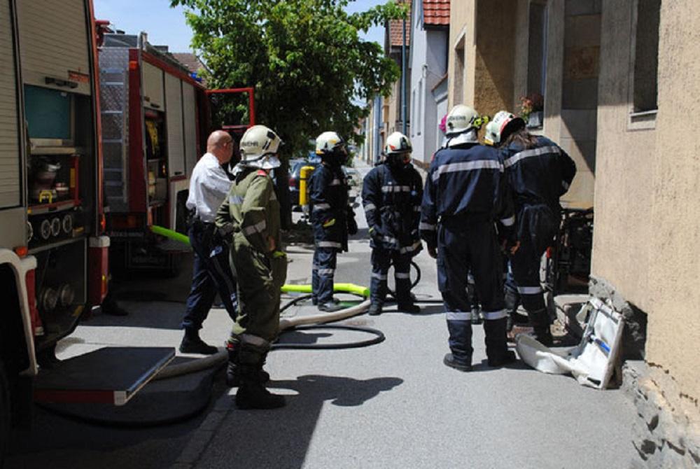 Zimmerbrand in der Horner Bahnstraße